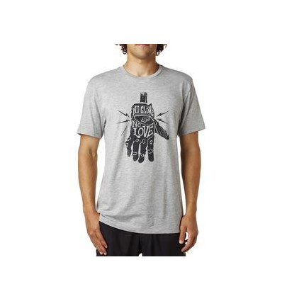 LIFER SS PREMIUM TEE HEATHER GREY