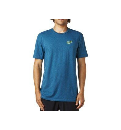 OBSERVED SS PREMIUM TEE HEATHER M BLUE