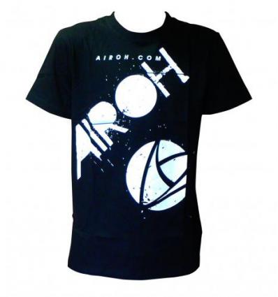 T-SHIRT BLACK AIROH