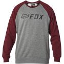 APEX CREW FLEECE [GRY/RD]