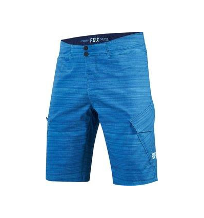 MTB-PANT RANGER CARGO HEATHER SHORT HEATHER BLUE