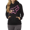 REACTED PULLOVER HOODY BLACK