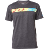 TRANSPORT RACE SS TEE HEATHER BLACK