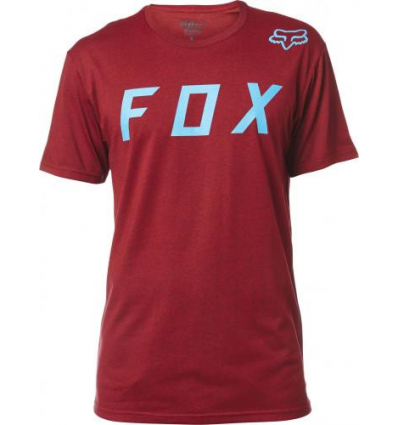 MOTH SS TEE HEATHER RED