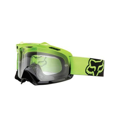 MX-GOGGLE AIRSPC DG GREEN/BLACK FADE CLEAR