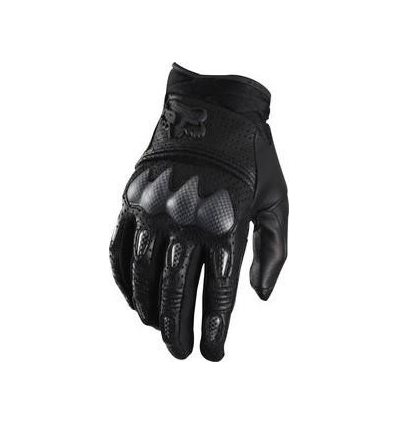 MX-GLOVE BOMBER S LEATHER GLOVE BLACK