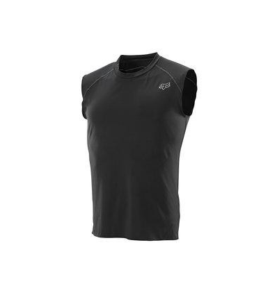 MX-JERSEY FIRST LAYER SLVLESS JERSEY BLACK
