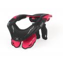 NECK BRACE DBX 5.5 RUBINE RED/BLACK