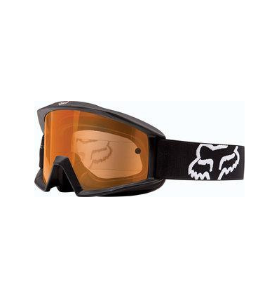 MX-GOGGLE MAIN ENDURO MATTE BLACK/ORANGE DUAL