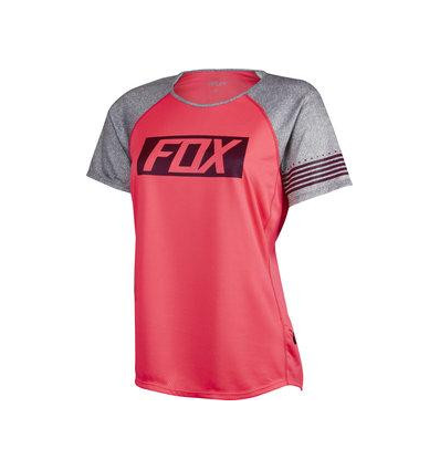 MTB-JERSEY WOMENS RIPLEY SS JERSEY NEO RED