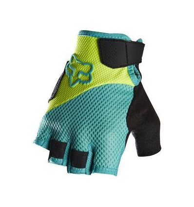 MTB-GLOVE WOMENS REFLEX SHORT GEL GLOVE FLORIDA YELLOW