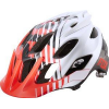 MTB-HELMET FLUX SAVANT HELMET RED/WHITE