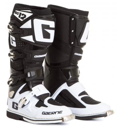 BOOTS GAERNE SG 12 WHITE BLACK