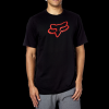 LEGACY FOXHEAD SS TEE BLACK/RED