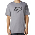 LEGACY FOXHEAD SS TEE HEATHER GRAPHITE