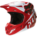 MX-HELMET V1 RACE HELMET, ECE RED