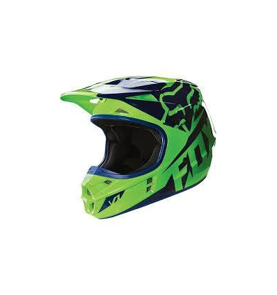 MX-HELMET V1 RACE HELMET, ECE GREEN