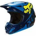 MX-HELMET V1 RACE HELMET ECE BLUE/YELLOW