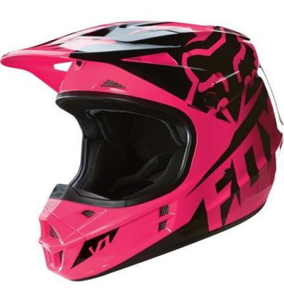 MX-HELMET VI RACE HELMET, ECE PINK