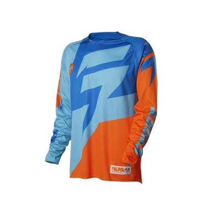 MX-JERSEY FACTION JERSEY ORANGE/BLUE