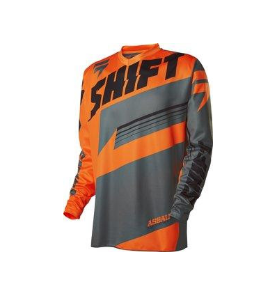 MX-JERSEY ASSAULT JERSEY ORANGE