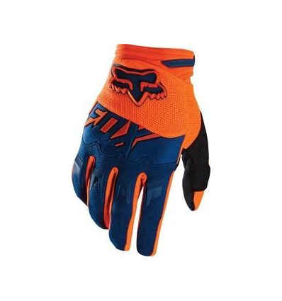 MX-GLOVE DIRTPAW RACE GLOVE ORANGE/BLUE