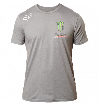 FOX MONSTER PC SS TEE [HTR DRK GRY]