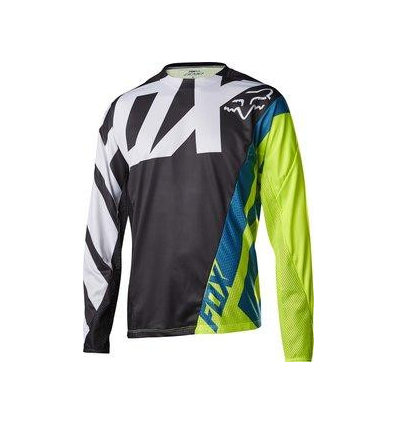 MTB-JERSEY DEMO LS JERSEY BLACK/YELLOW