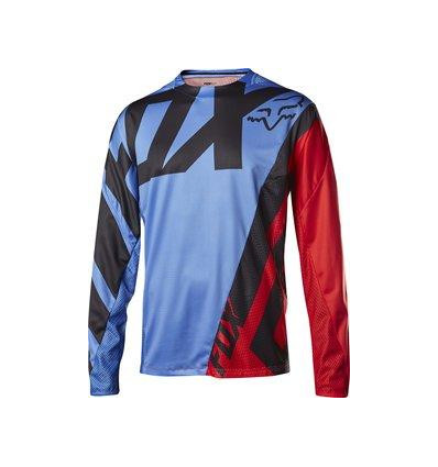 MTB-JERSEY DEMO LS JERSEY BLUE/RED