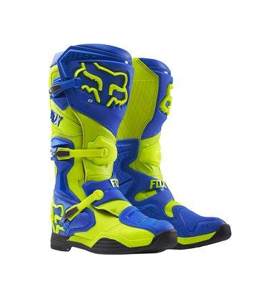 MX-BOOT COMP 8 BOOT-RS BLUE/YELLOW