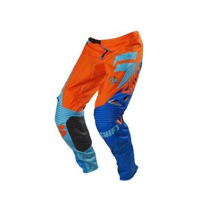 MX-PANT FACTION PANT ORANGE/BLUE