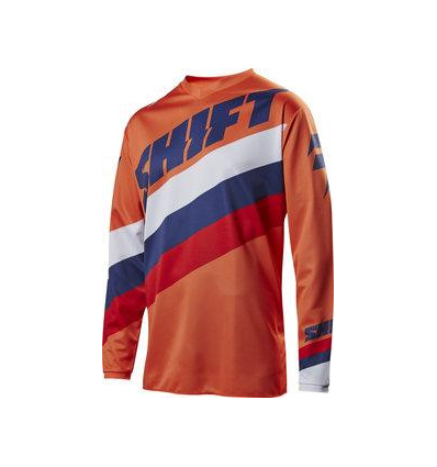 MX-JERSEY WHIT3 TARMAC JERSEY ORANGE
