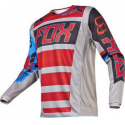 MX-JERSEY 180 FALCON JERSEY GREY/RED