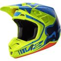 MX-HELMET V2 NIRV HELMET ECE YELLOW/BLUE