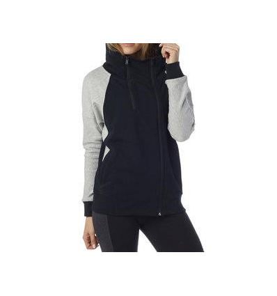 SUGGEST ZIP HOODY BLACK