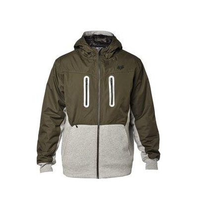 BARGE SASQUATCH ZIP FLEECE MILITARY