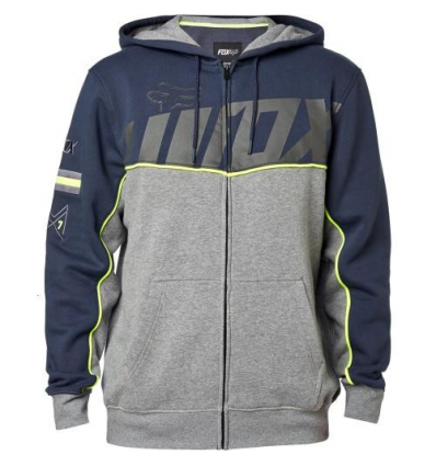AGGREZZOR ZIP FLEECE PEWTER