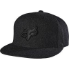 FRET SNAPBACK HAT BLACK