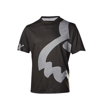 MTB-JERSEY INDICAR SS EYECON JERSEY HEATHER BLACK