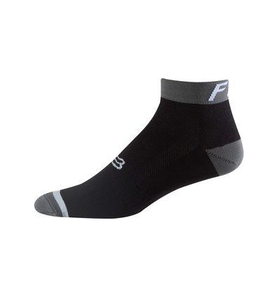 "MTB-SOCK 4"" LOGO TRAIL SOCK BLACK"